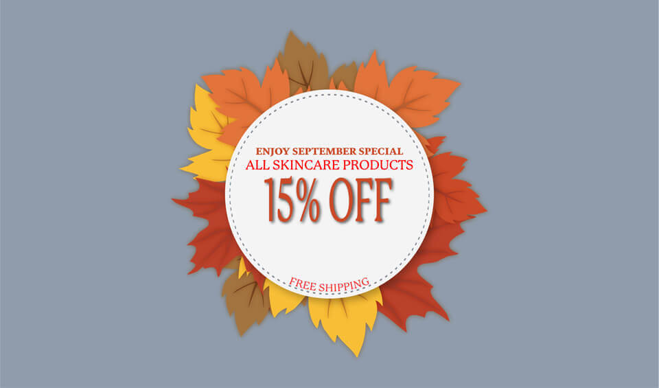 skincare products fall sale