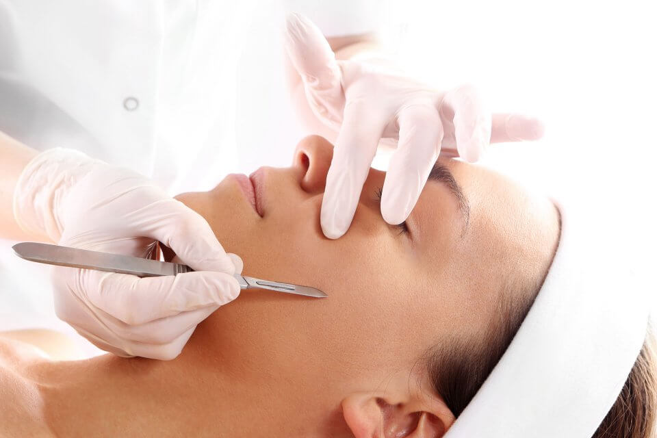 Dermaplaning facial in Washington DC
